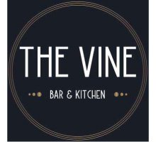 The Vine Bar and Kitchen logo social media managed by Anderson Evans Marketing Consultancy